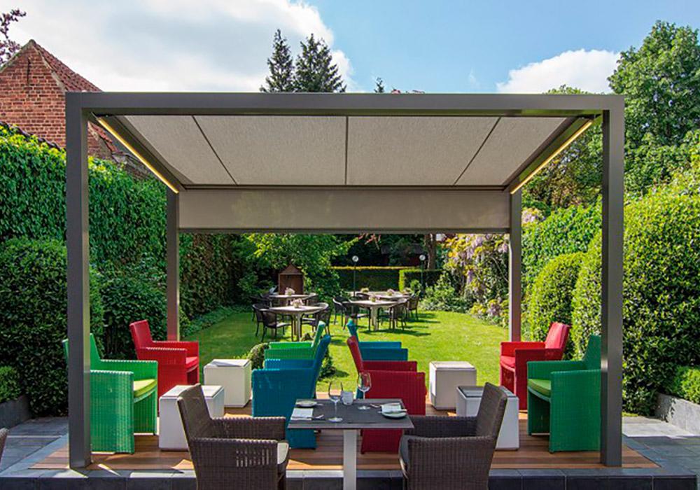 Pergolas Et Couvertures De Terrasse En Toile Ou à Lamelles à